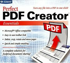 Perfect PDF Creator - Essentials Portable Document Format Sharing PC NEW
