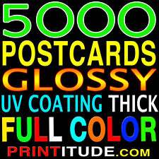 EVERY DOOR DIRECT MAIL 5000 POSTCARDS FULL COLOR, GLOSSY, 2 SIDED  4.5x11 EDDM