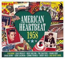 American Heartbeat 1958 (neuf scellé 2CD) Elvis Presley-Buddy Holly-Bobby Darin