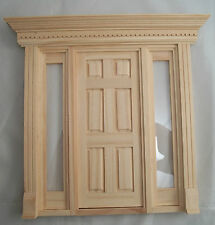 Door wooden dollhouse miniature  6011 1//12 scale Houseworks Double French