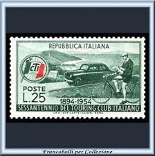 1954 Italia Repubblica Touring Club Italiano 743 ** TCI