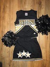 "NEW Stunning Cheerleader Uniform Outfit Costume + Poms ECLIPSE 34 Top 25"" Waist"