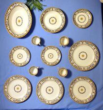 Elegant Antique Classic Ridgeways Dishes Cups Saucers Dinner Salad Plates H 8850