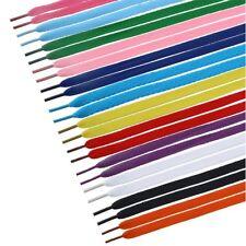 Set 12 Coppie Paia Stringhe Elastiche Scarpe Sneaker Lacci Piatti Colorati dfh