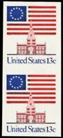 1622Cd, Mint VF NH 13¢ Vertical Imperforate Pair Error Cat $100. -- Stuart Katz