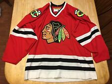 Adult KOHO Chicago Blackhawks NHL Official Licensed STITCHED Jersey Medium