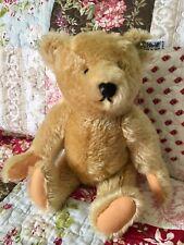"""STEIFF ORIGINAL TEDDY BEAR 14"""" 0155/38 JOINTED VINTAGE MOHAIR"""