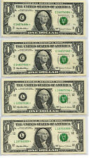 Lot of 1999 $1 Federal Reserve Star 20-Note Set Au Bu Currency Collection Aq775