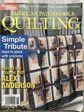 American Patchwork & Quilting Magazine Jun 2003 Learn to piece with precision