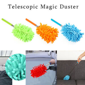 Clean Tool House Cleaning Microfibre Telescopic Magic Duster Extendable Brush