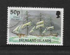 FALKLAND IS 1989 50p Ship Definitive GRACE HARWAR 1v FINE USED (No 1)