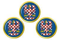Moravia (Tchèque) Marqueurs de Balles de Golf