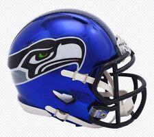 New Chrome Alternate 2018 SEATTLE SEAHAWKS NFL Riddell Mini Speed Helmet