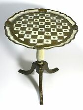 Vintage Florentine Table Toleware Italy