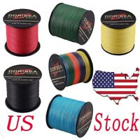 US 300M-1000M 10LB-100LB Power PE Extreme Dyneema Braided Fishing Line Fast Ship