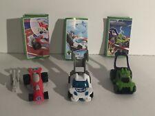 Kinder Joy Surprise Egg Toy Pullback Cars 2017 Set of 3 Cars