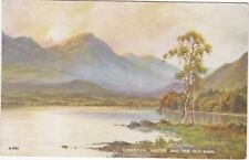 Artist Drawn, Coniston Water & Old Man, CONISTON, Lancashire - Ed. H.Thompson