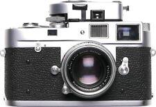 Leica M2 camera with Summicron 1:2 f=5cm rangefinder 35mm film meter kit 2/50