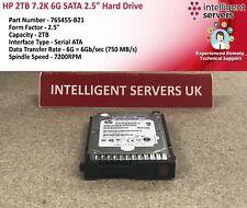 """HP 2TB 7.2K 6G SATA 2.5"""" Hard Drive - 765455-B21"""