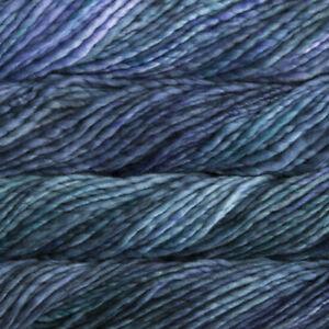 Malabrigo Rasta Super Bulky Merino Knitting Yarn Wool 150g Azules (856)