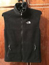 THE NORTH FACE VINTAGE  Men's Full Zip Fleece Vest Black  Size S/P