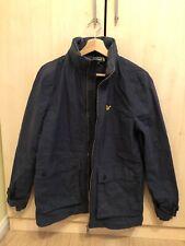 Lyle and Scott (Lyle & Scott) Men's Zip Jacket Coat Retractable Hood - Small