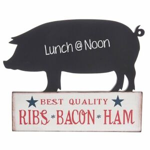 MIDWEST-CBK – Pig Shaped Chalkboard with Butcher Theme for Kitchen