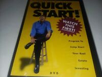 Quick Start Carleton H Sheets DVD New Sealed Real Estate Investing Free Shipping