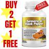 Turmeric 95% Curcumin & Black Pepper- 60 Capsules Tablets Pills Extra Strength