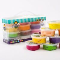 Claydoll Clay 12 Colors Kids Slime Toys Children Educational Sludge Toy Gift Set