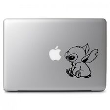 Stitch Lilo Black Decal Sticker for Macbook Air Pro Laptop Car Window Decor