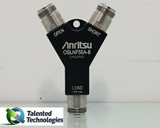 Anritsu Oslnf50a 8 Calibration Kit Type N Female Dc To 8 Ghz 50 Ohm