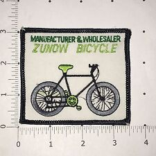 Zunow Bicycle Patch