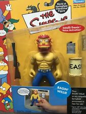 THE SIMPSONS World of Springfield WOS Ragin' Willie SERIES 8 Action Figure NIB