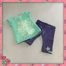 "RETIRED TAGGED 2013 AMERICAN GIRL 18"" DOLL 2 PIECE TROPICAL BLOOM OUTFIT"