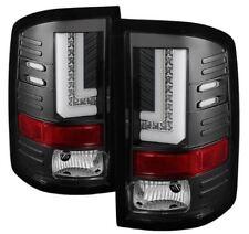 Spyder LED Tail Lights -Black #5080660 for 14-16 GMC Sierra 1500, 2500HD, 3500HD