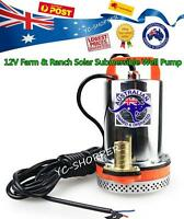 12V 120W Farm & Garden Solar Powered Submersible Water Well Pump