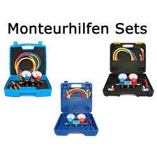 Monteurhilfen R410a, R134a in versch. Ausführungen für Klimaanlagen