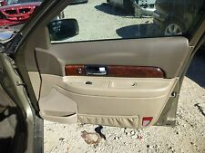 LINCOLN LS 2000 2001 2002  RIGHT FRONT INTERIOR DOOR PANEL