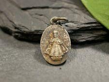 Anhänger Pilger Medaille Wallfahrt Souvenir De Tongres Belgien Christkind Antik