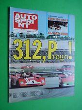 AUTOSPRINT 1972/7 Ferrari 312 P DAytona Alfa Romeo 33tt3 Rally Montecarlo