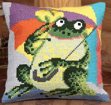 Collection D'Art Cross Stitch Cushion Kit: Mr Cora CD5020