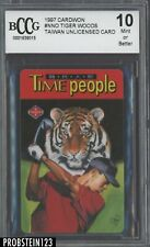 1997 Cardwon Taiwan Unlicensed Card Golf Tiger Woods BCCG 10