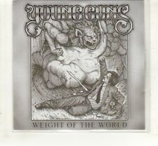 (HL967) Young Guns, Weight Of The World - 2010 DJ CD