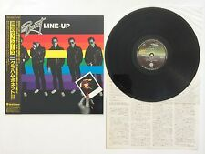 GRAHAM BONNET-LINE UP-1981-JAPAN-OBI STRIP & INLAY INCLUDED-LP-MINT-