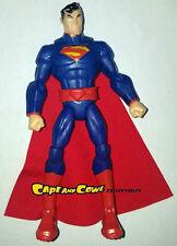 "DC Comics Total Heroes NEW 52 SUPERMAN Loose 6"" Action Figure Mattel 2014"
