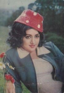 Bollywood Actress Postcard - Hema Malini (02)