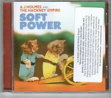(GM133) A J Holmes & The Hackney Empire, Soft Power - 2015 CD