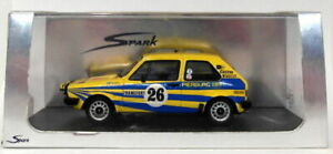 Spark Models 1/43 Scale S3201 Volkswagen Golf GTI #26 5th Monte Carlo Rally 1980