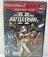 Star Wars Battlefront II 2 for Sony PlayStation 2 PS2 Complete Tested Works